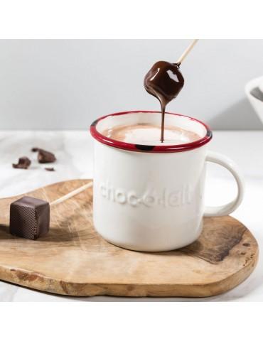Ciocolata calda pe bat