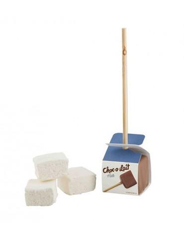 Ciocolata calda cu marshmallow bezele