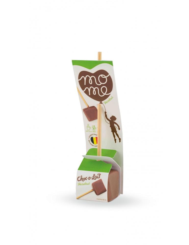 Ciocolata calda pe bat Choc O Lait cu alune.